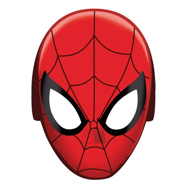 Billede af Spider-man masker - 8 stk.