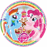 My Little Pony paptallerkner - Party