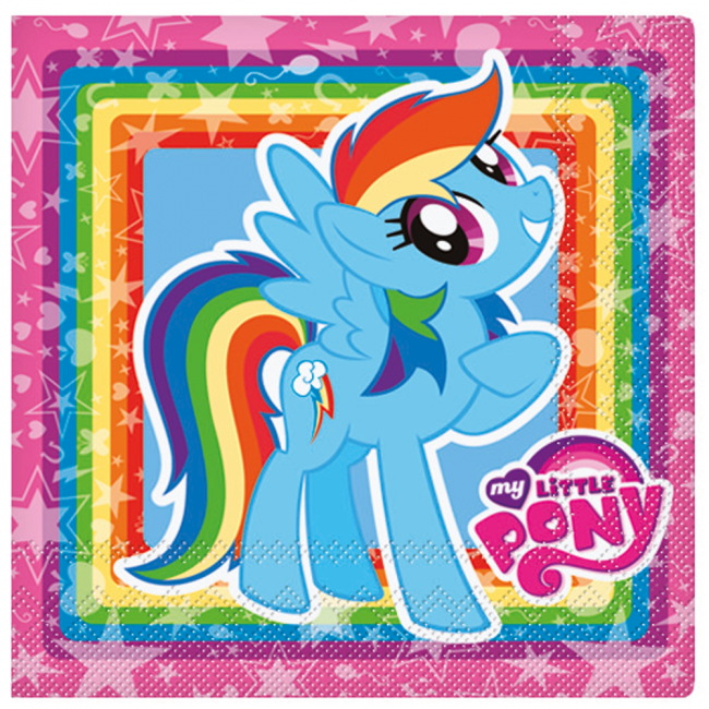 Image of   My Little Pony servietter - Party