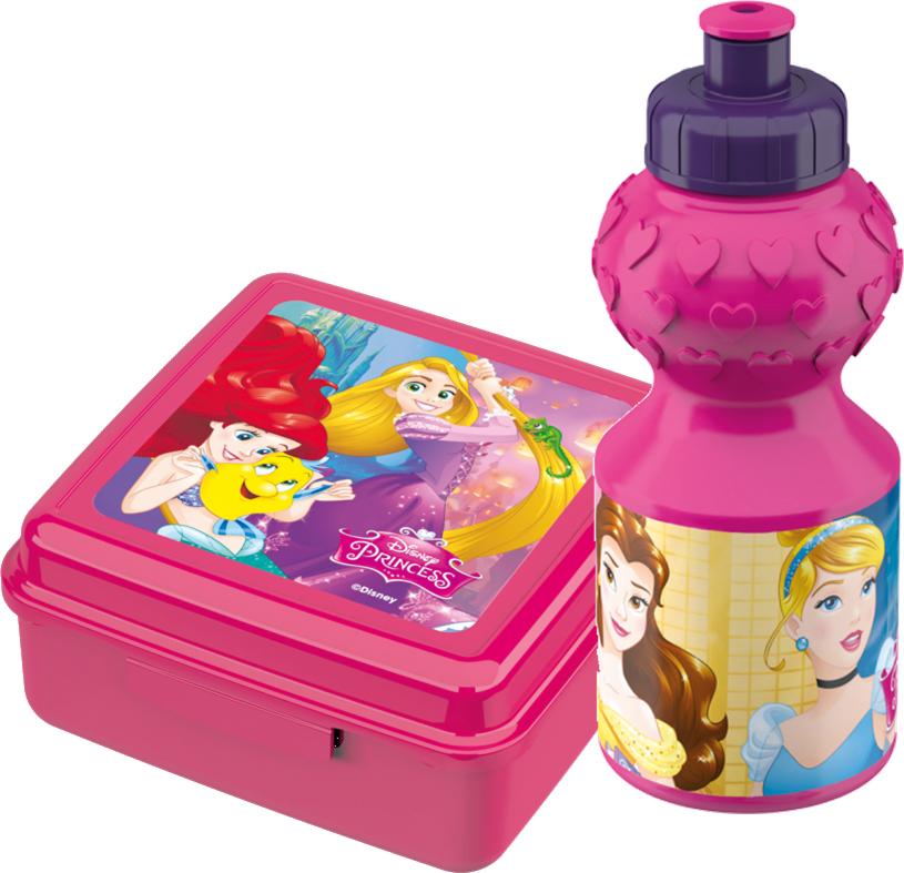 Billede af Disney Prinsesser madkasse og drikkedunk sæt