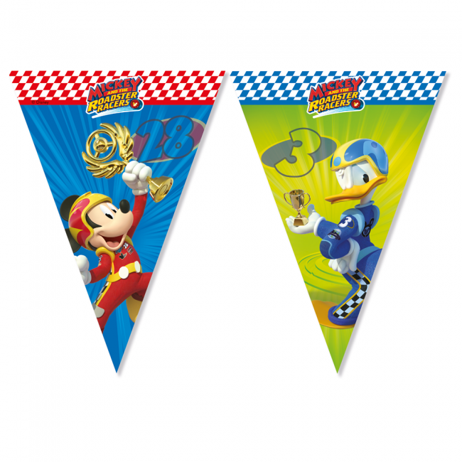 Image of   Mickey Mouse flag banner