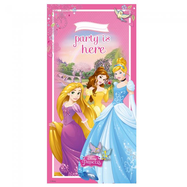 Billede af Disney Prinsesser dør banner - Dreaming