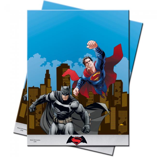 Billede af Batman vs Superman plastik dug