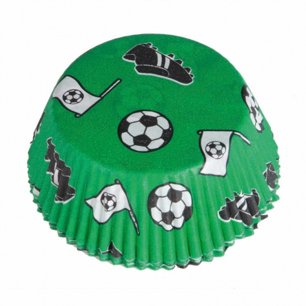 Image of   Fodbold cupcake forme