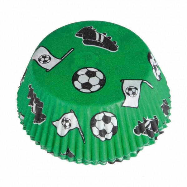Fodbold cupcake forme