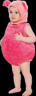 Image of   Grisling kostume: Størrelse - 12 - 18 Måneder