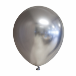 Chrome sølv ballon