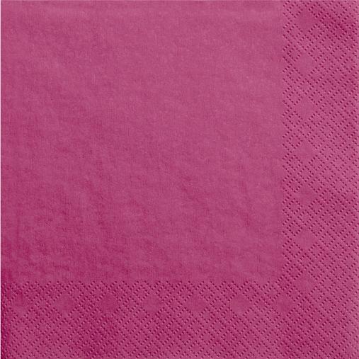 Pink servietter 33 cm