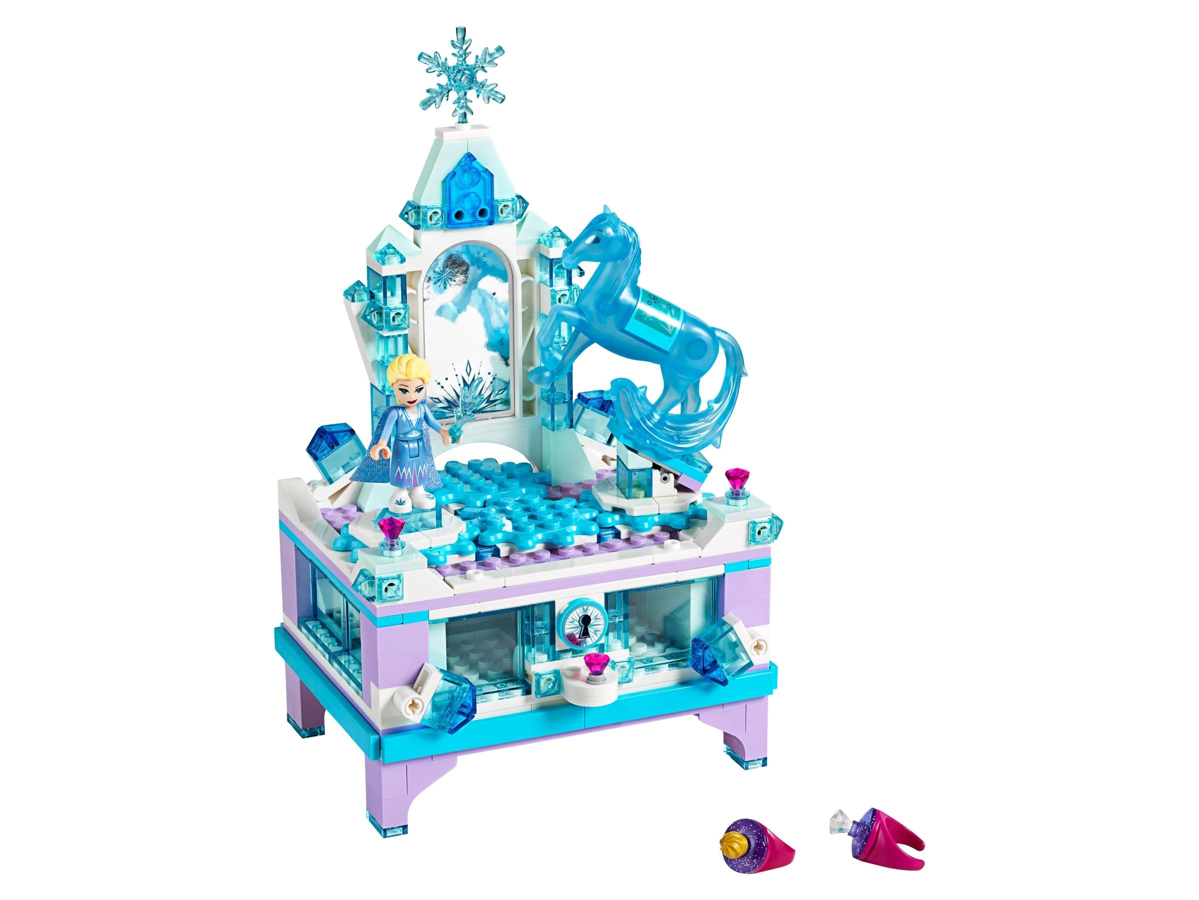 Lego Frost Elsas smykkeskrinsmodel