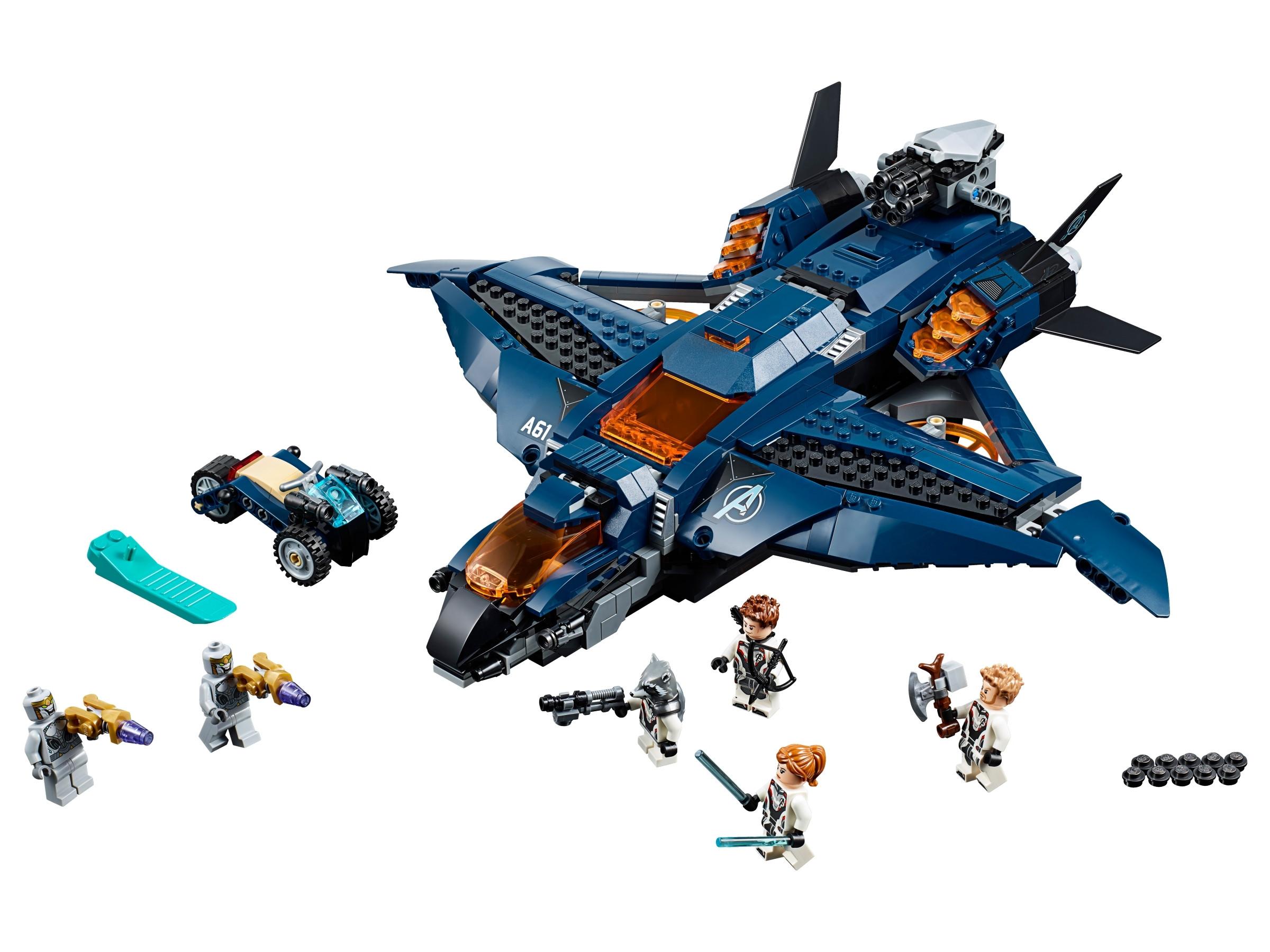 Lego Avengers' ultimative quinjet