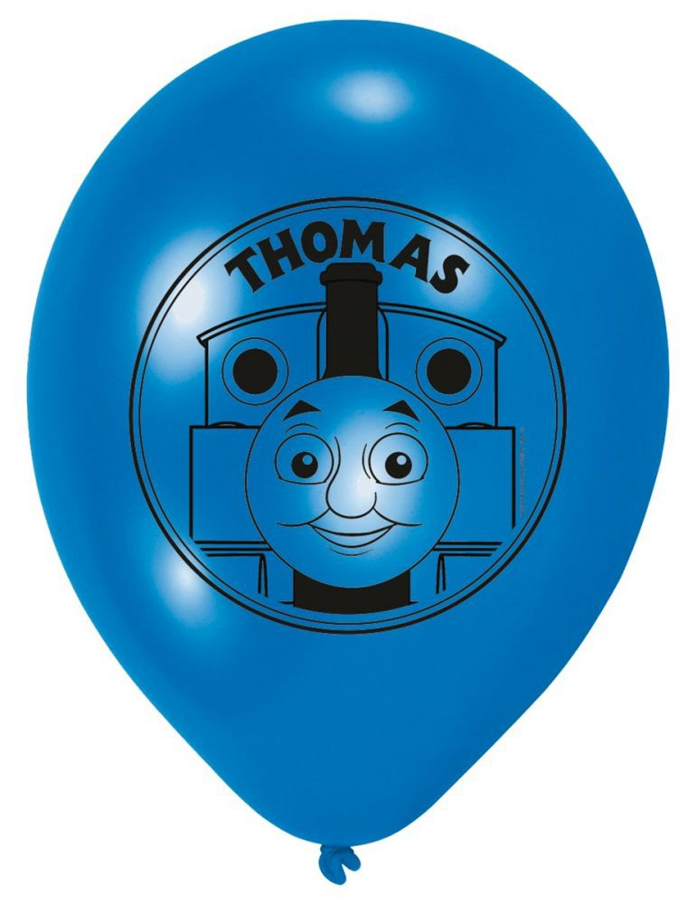 Billede af 6 stk. Thomas Tog balloner