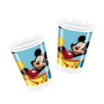 Mickey Mouse engangskrus - 10 Stk.