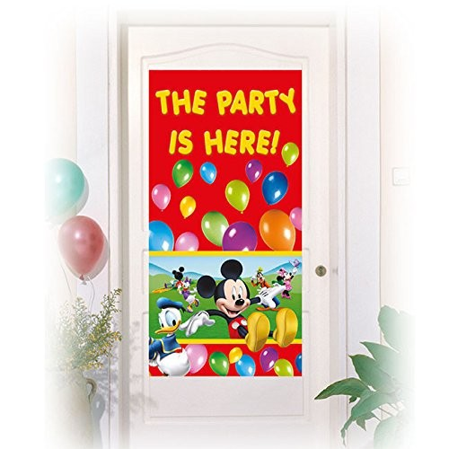 Image of   Mickey Mouse dør banner