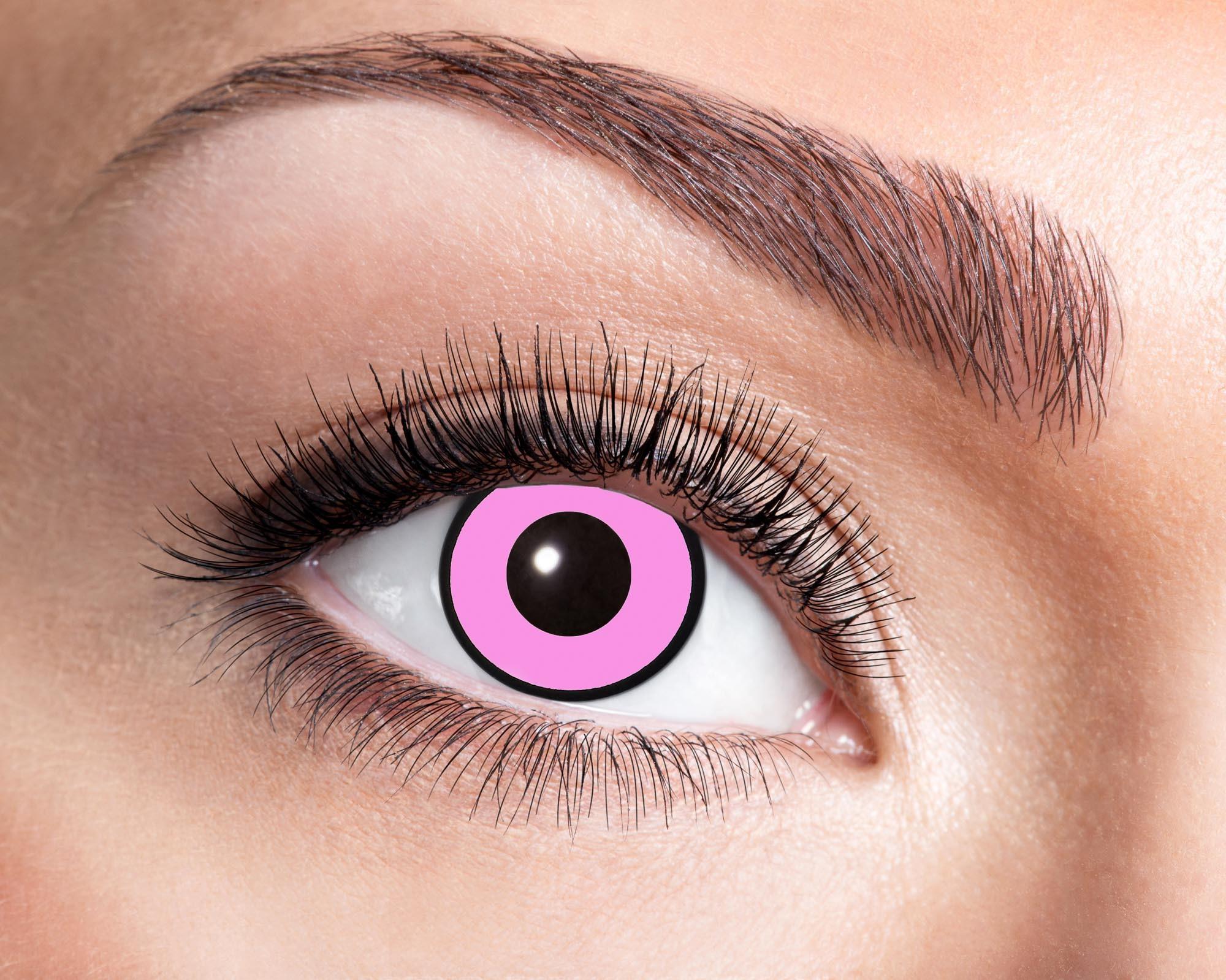 Billede af Pink kontaktlinser