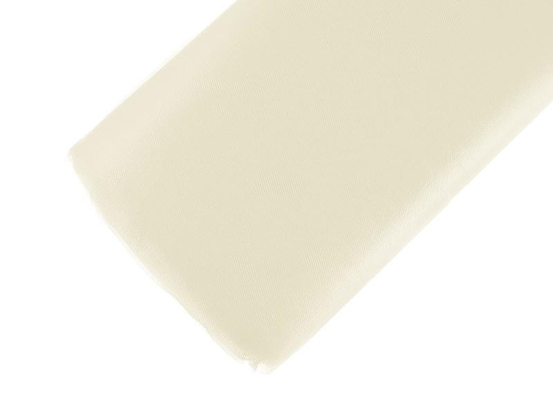 Billede af Cremefarvet tyl 1,5 meter x 50 meter