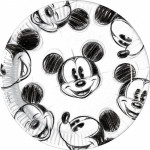 Mickey Mouse pap tallerkner, Retro