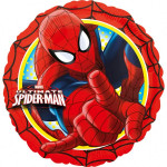 Spider-man rund folie ballon