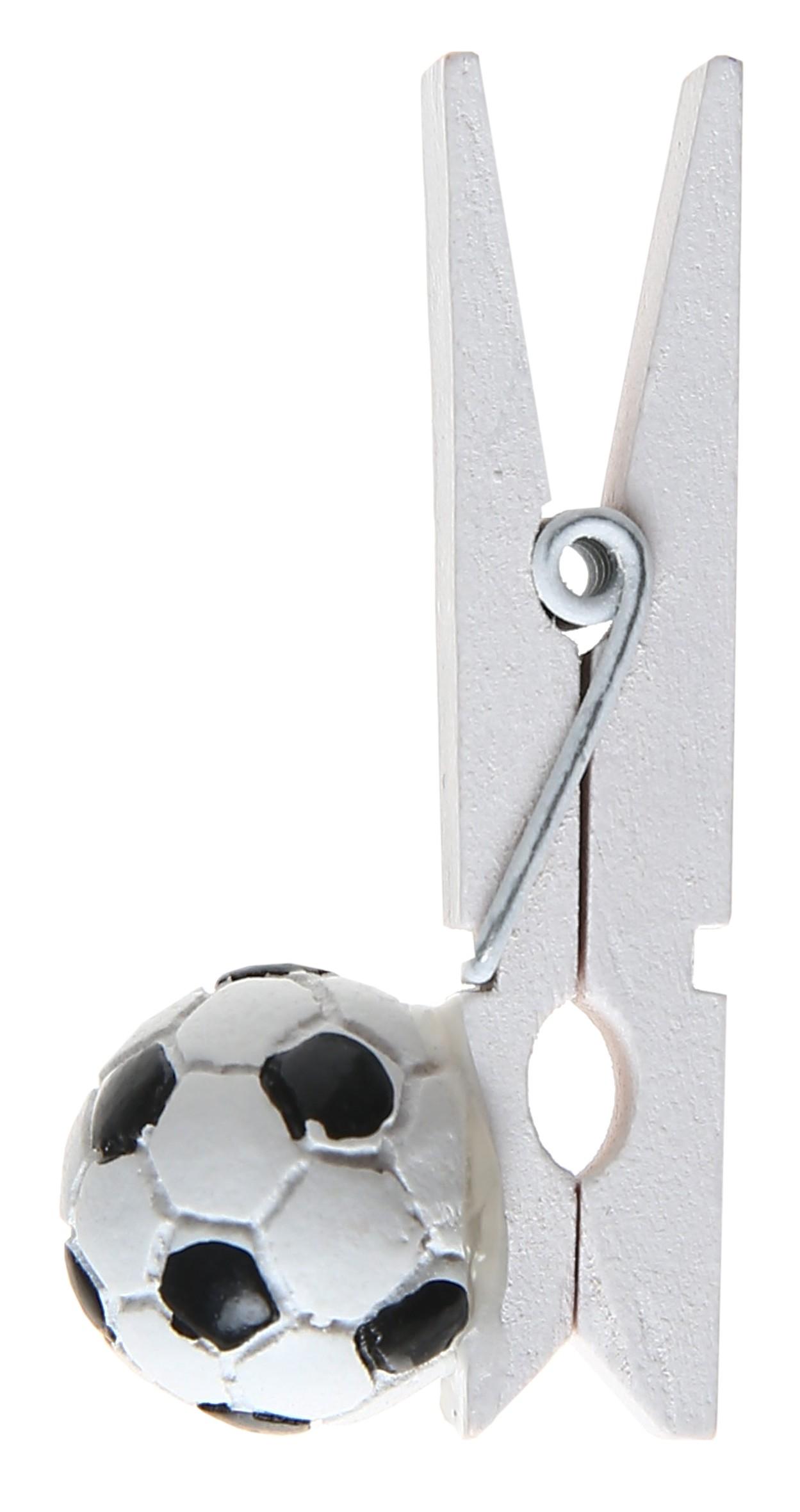 Klemme med fodbold - 6 Stk