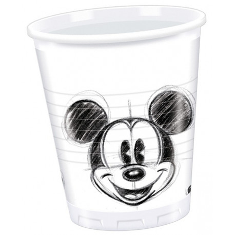 Mickey Mouse plastik krus, Retro