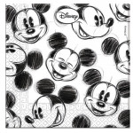 Mickey Mouse servietter, Retro