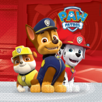 Paw Patrol servietter - Action