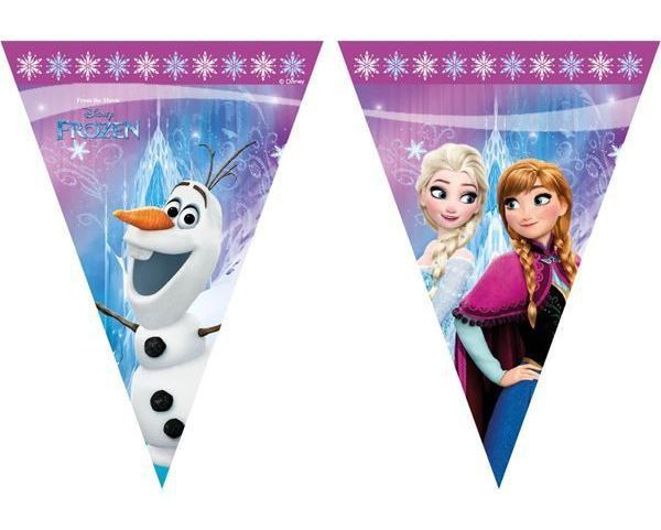 Billede af Frost flag banner, nordlys