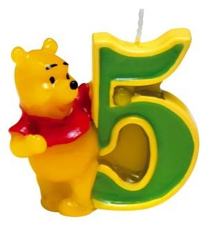 Image of   Peter Plys fødselsdagslys: Fødselsdag - 5 års fødselsdag