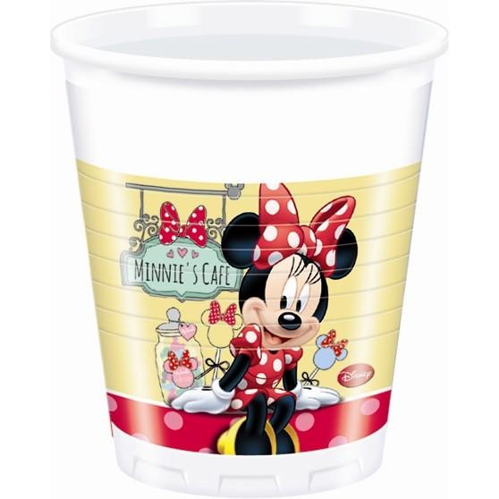 Billede af 8 Stk. Minnie Mouse krus