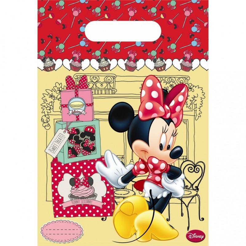 Billede af 6 Stk. Minnie Mouse slikposer