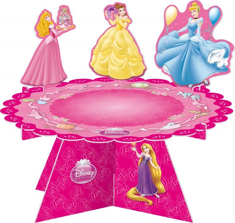 Billede af Disney Prinsesser kagestander