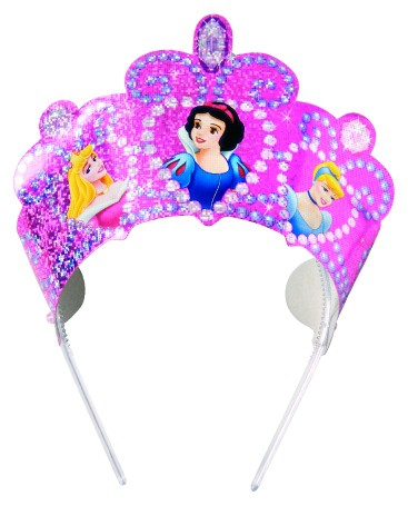 Billede af 4 Stk. Disney Prinsesser diadem