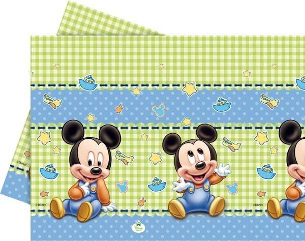 Billede af Baby Mickey plastik dug