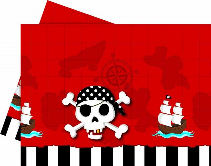 Billede af Pirat skattejagt plastik dug