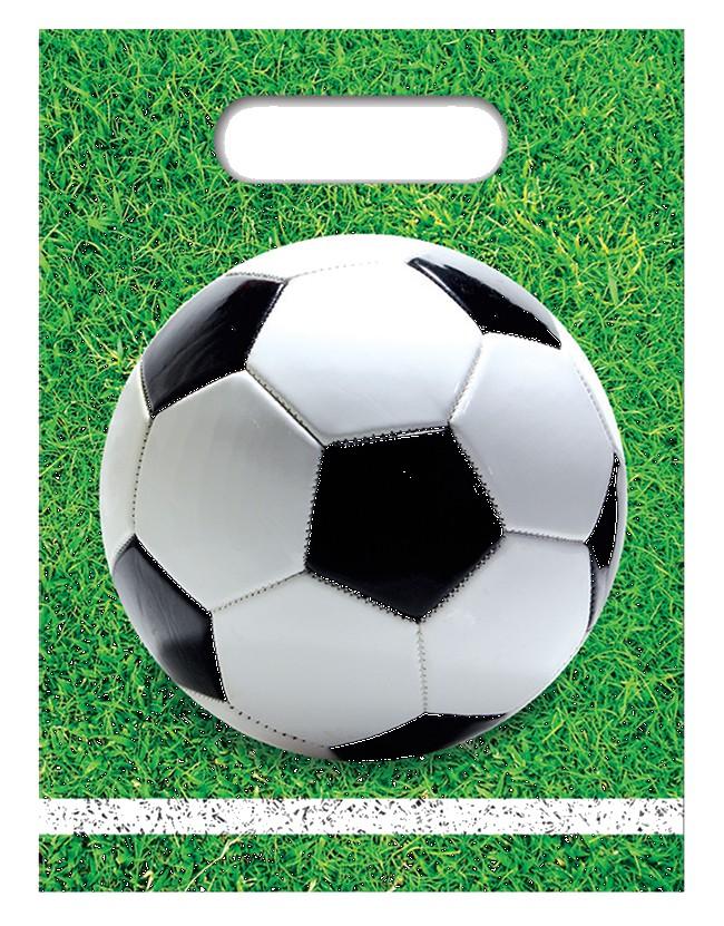 Billede af 6 stk. Fodbold slikposer