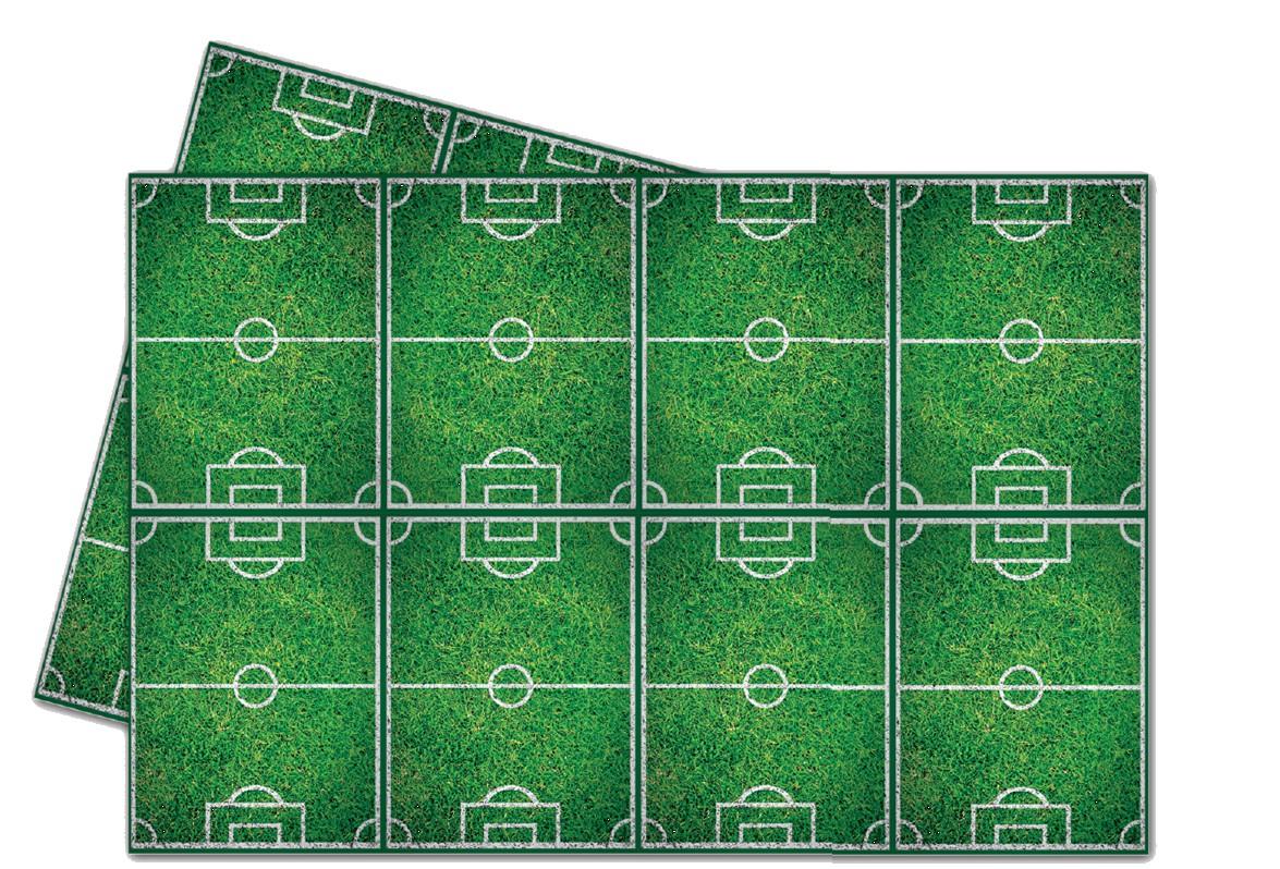 Billede af Fodbold plastik dug
