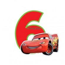Biler fødselsdagslys: Fødselsdag - 6 års fødselsdag