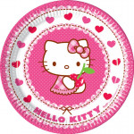 Hello Kitty pap tallerkner