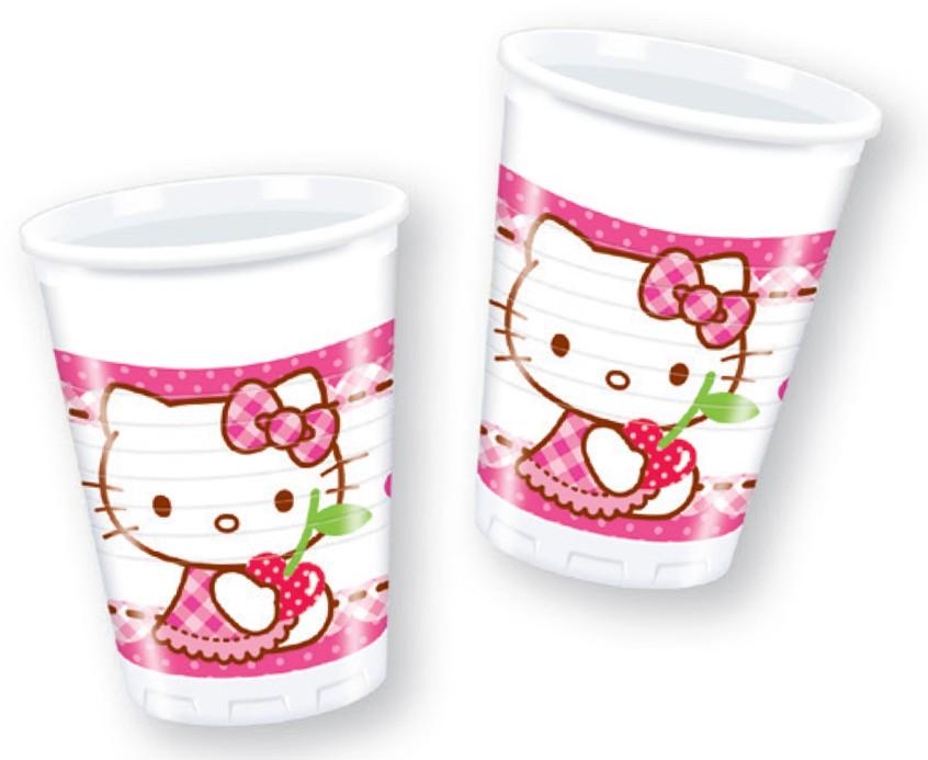 Billede af 8 Stk. Hello Kitty krus
