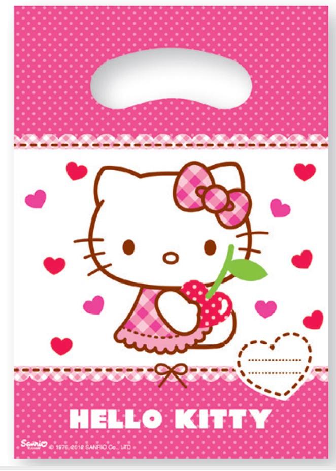 Billede af 6 Stk. Hello Kitty slikposer