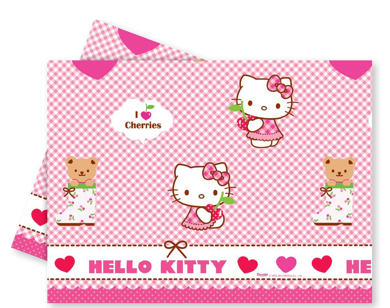 Billede af Hello Kitty plastik dug