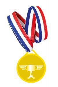 Billede af Biler medalje