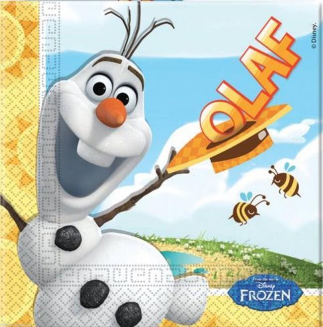 Billede af 20 Stk. Frost servietter, Olaf