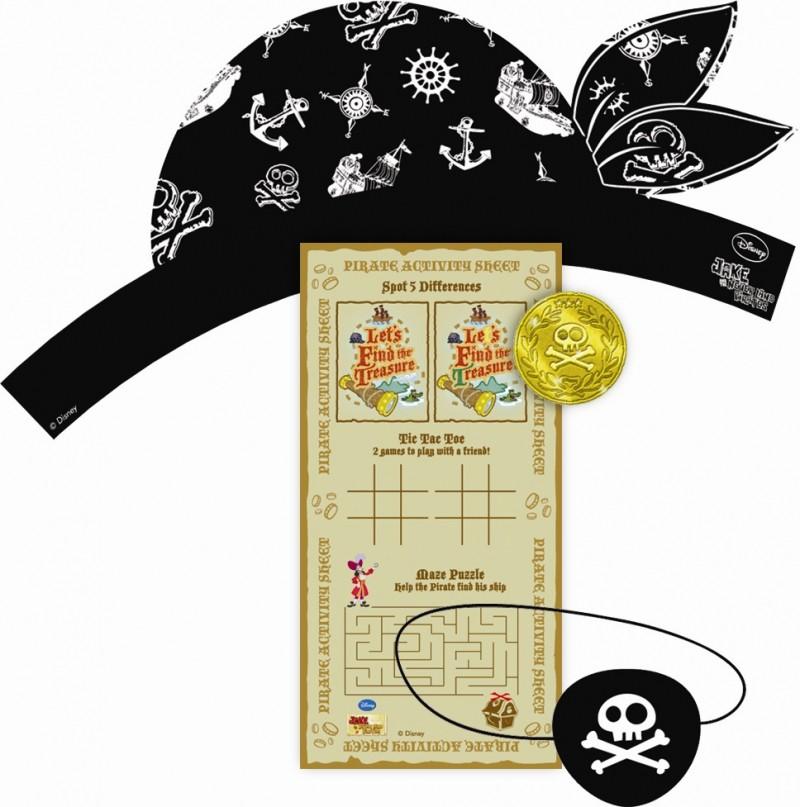 Billede af Jake og piraterne skattejagt sæt