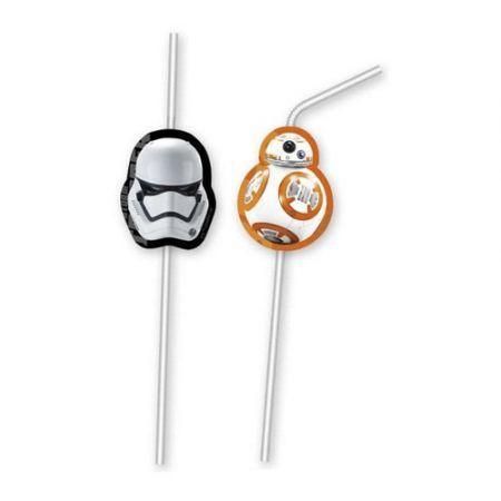 Billede af Star Wars the force awakens sugerør