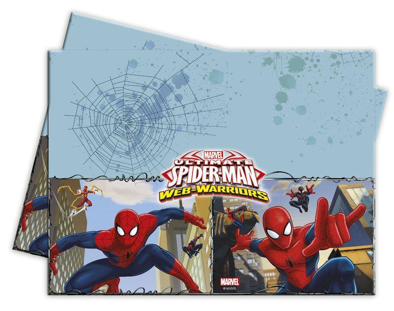 Billede af Spider-man plastik dug