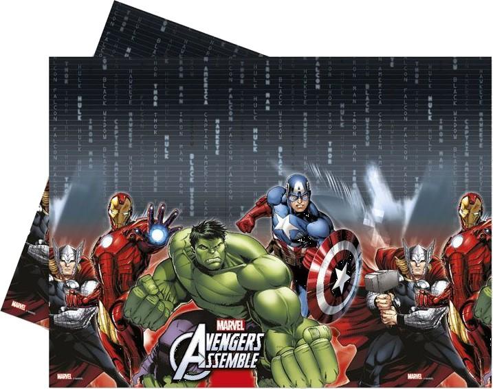 Billede af Avengers Assemble plastik dug