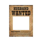 Fotoramme - Husband wanted - wife wanted