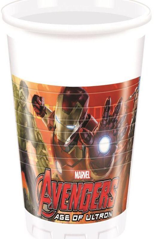 Billede af 8 Stk. Avengers Age of Ultron krus