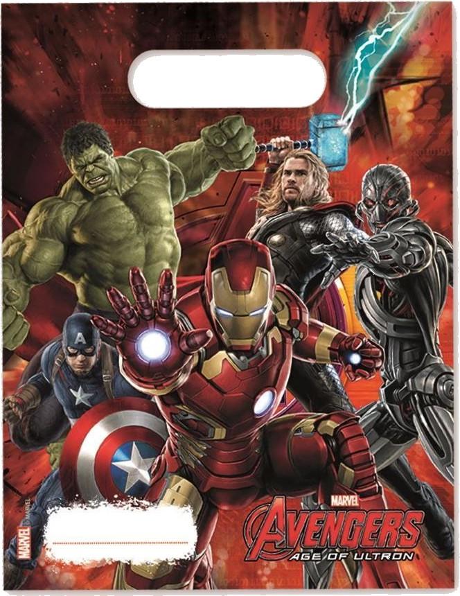 Billede af 6 Stk. Avengers Age of Ultron slikposer