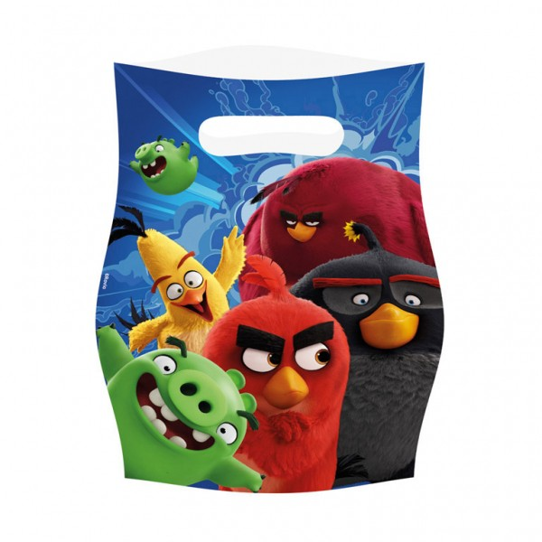 Image of   8 Stk. Angry birds slikposer